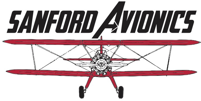 Sanford Avionics Logo | Raleigh Executive Jetport