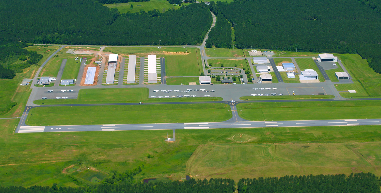 AerialFixed | Raleigh Executive Jetport