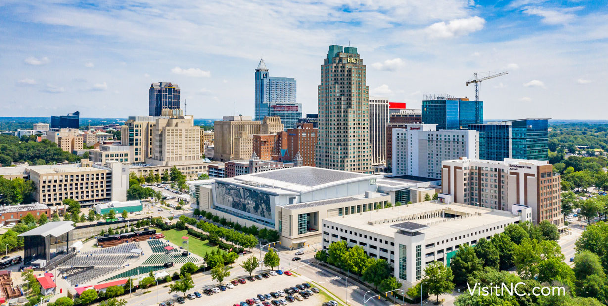 Raleigh Skyline | Raleigh Executive Jetport