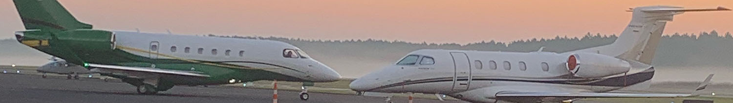 Jets Early Morning | Raleigh Executive Jetport