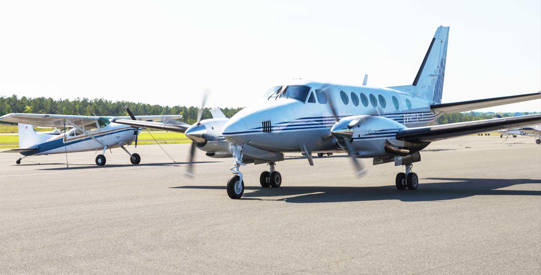 Raleigh Jetport Plane | Raleigh Executive Jetport